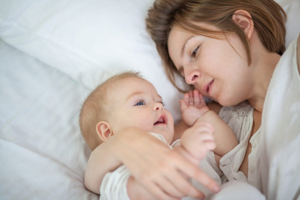 Elke nieuwe moeder vergeet een keer luiers mee te nemen