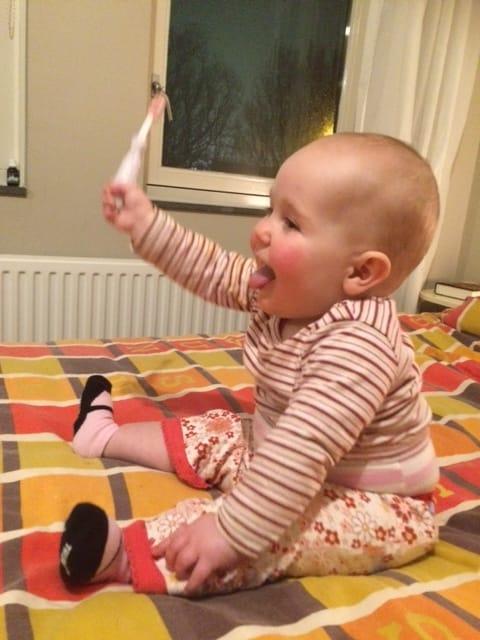 Baby 11 maanden naar consultatiebureau