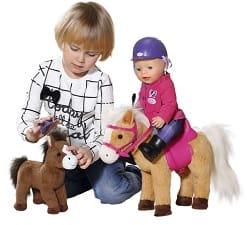 De nieuwe Baby Annabell en pony Sunny en veulen