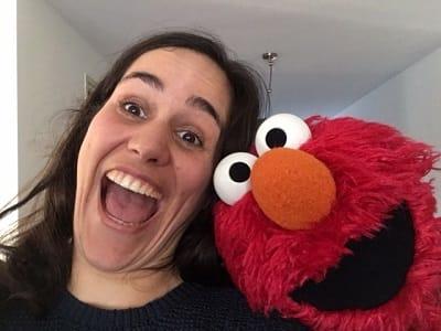 """Elmo zegt """"wees lief voor elkaar"""""""