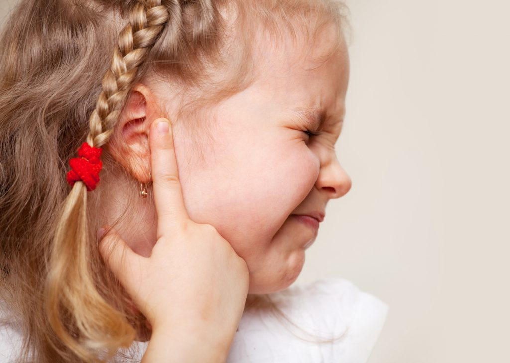 oorontsteking kind voorkomen