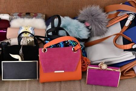 Mijn tas zit bomvol noodzakelijkheden
