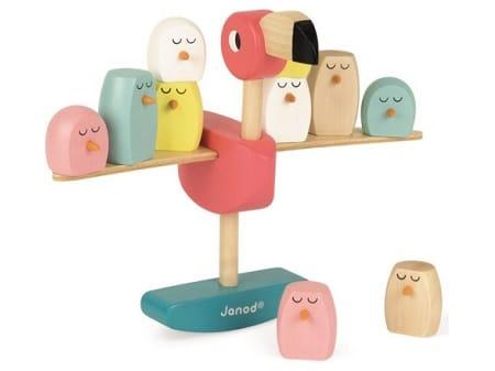 Het flamingo evenwichtsspel van Janod