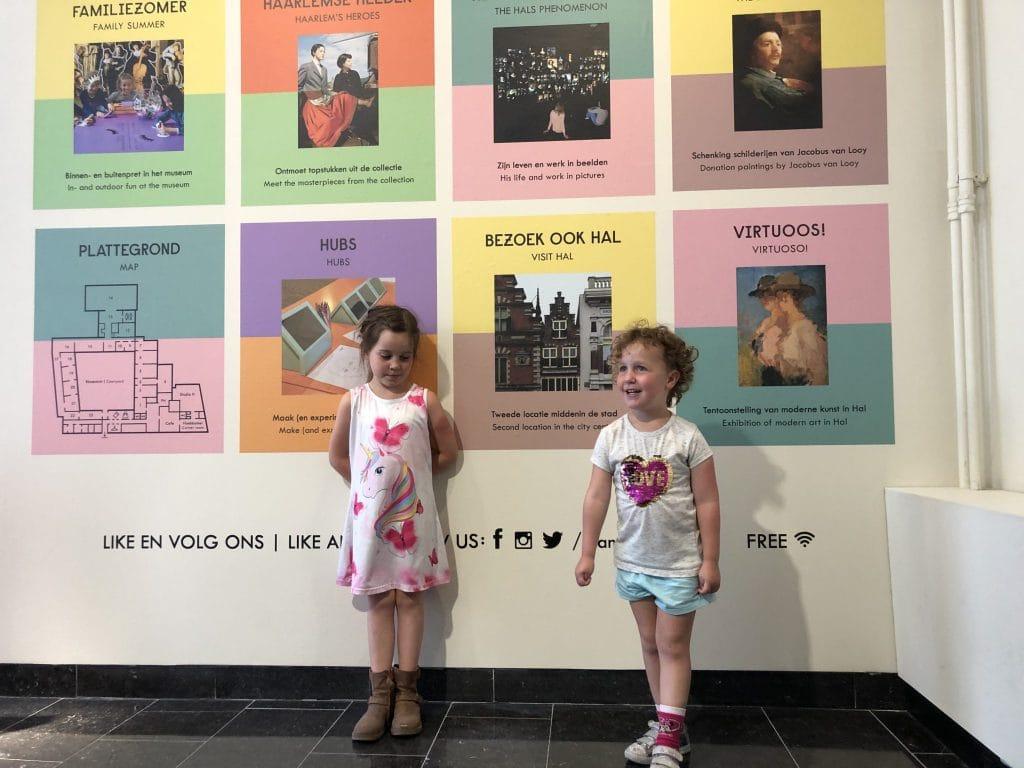 Met de kinderen naar het Frans Hals Museum