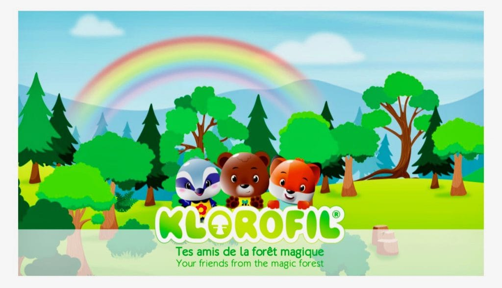 Klorofil, je vrienden uit het magische bos
