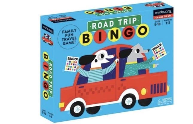 Met Road Trip Bingo wordt een autoreis een spelletje