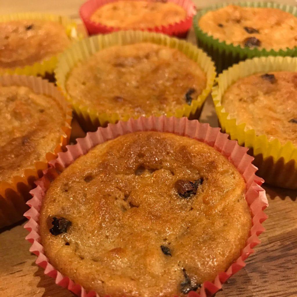 Lieke bakt: kwarkmuffins met appel en rozijnen