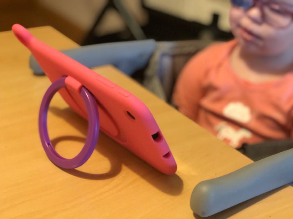 De Alcatel Tablet, ideaal voor (on)handige kinderen