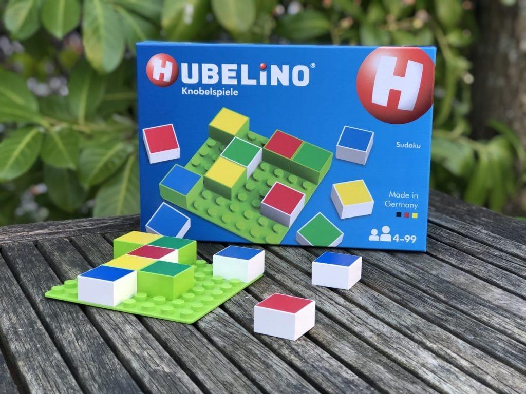 Hubelino Suduko, puzzelen met kleuren
