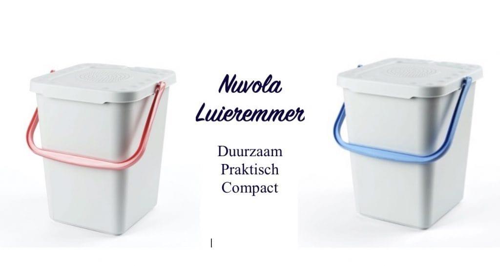 De Nuvola luieremmer is duurzaam, compact en praktisch