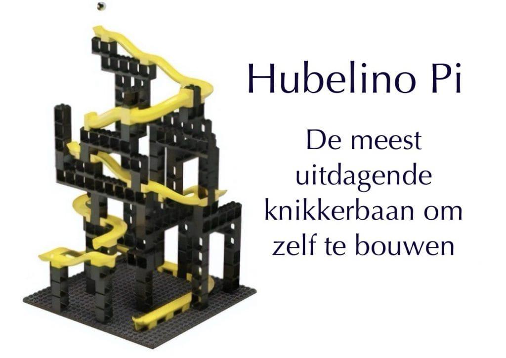 Bouw je eigen knikkerbaan met  Hubelino Pi
