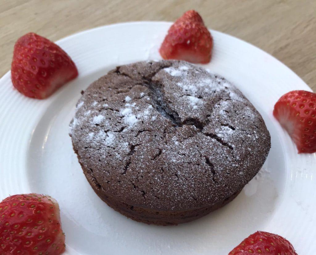 Lieke bakt: chocolade lavacakejes