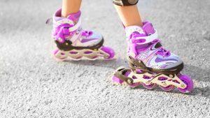 spierkracht verbeteren in benen met skeelers