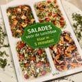 Salades voor de lunchbox