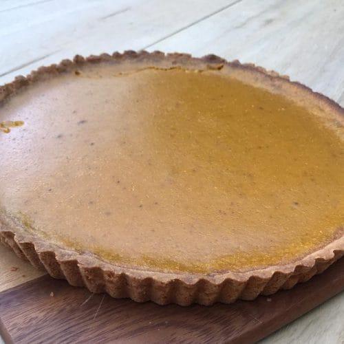 Lieke bakt: zoete pompoentaart met harde wener deeg