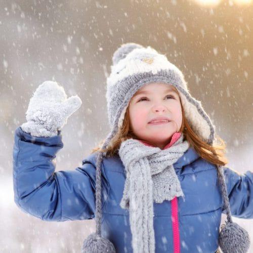 Winter kinderjassen koop je als het nog warm en zonnig is