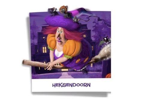 Met Halloween griezelen in Heksendoorn