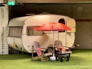 indoor camping Outside Inn