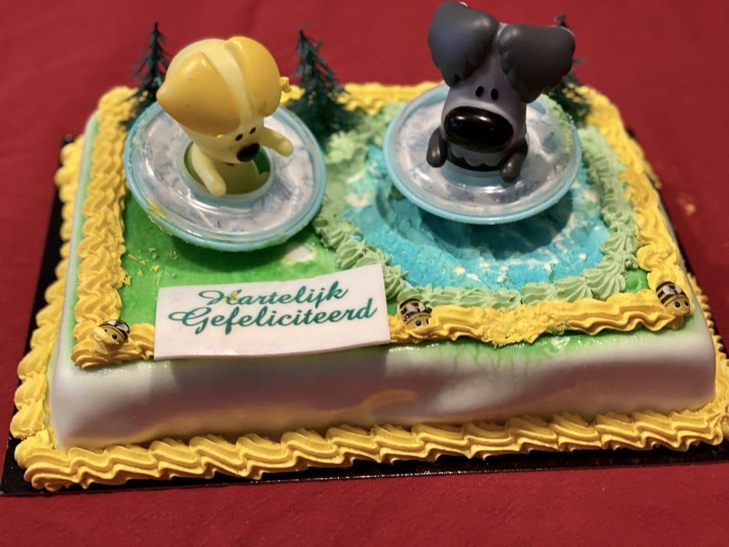 gefeliciTAART woezel en pip taart