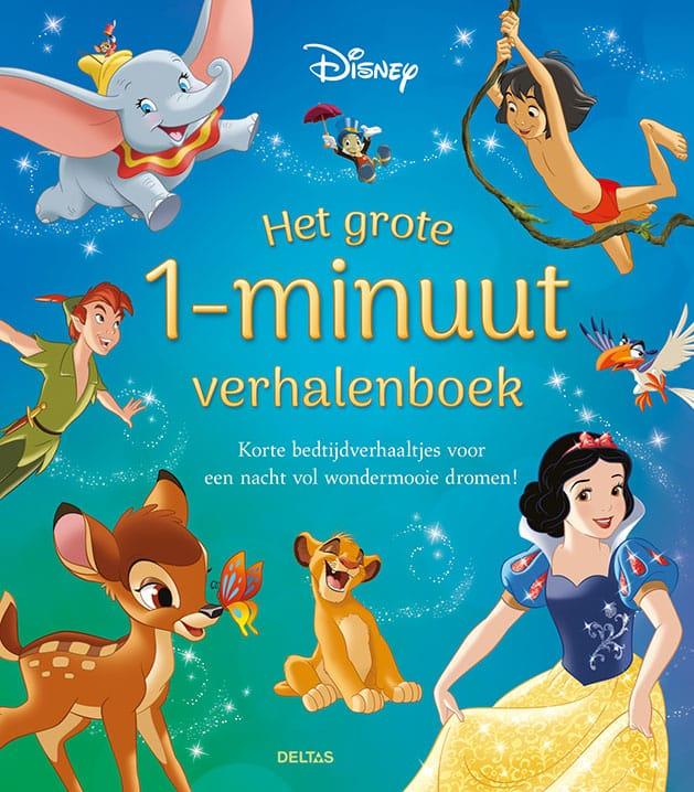 Het Disney het grote 1-minuut verhalenboek