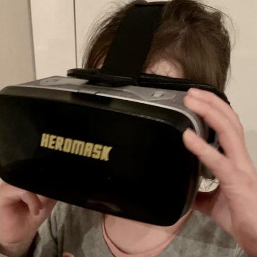 Een VR bril om mee en van te leren