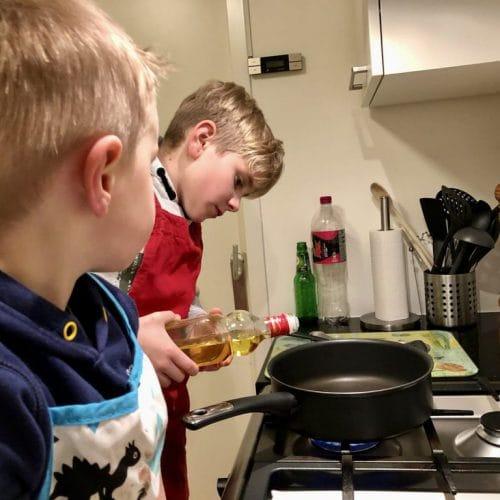 Je kind kan de was doen…oh nee…zelf koken