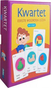 woorden kwartet Deltas: Eerste Woorden Lezen Avi Start Junior