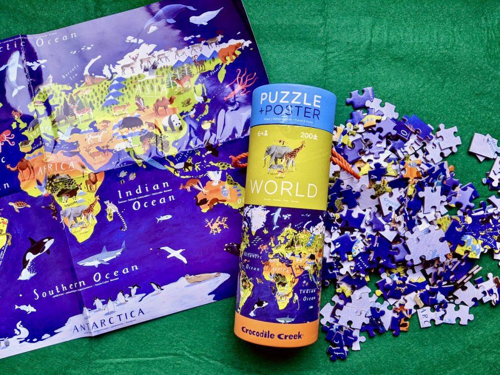 Puzzel en Poster Wereld van Crocodile Creeke