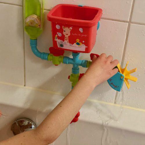 Sophie de giraf badspeelgoed, waterpret voor jong en oud