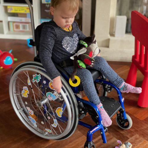 De rolstoel is nu nog wat meer speciaal