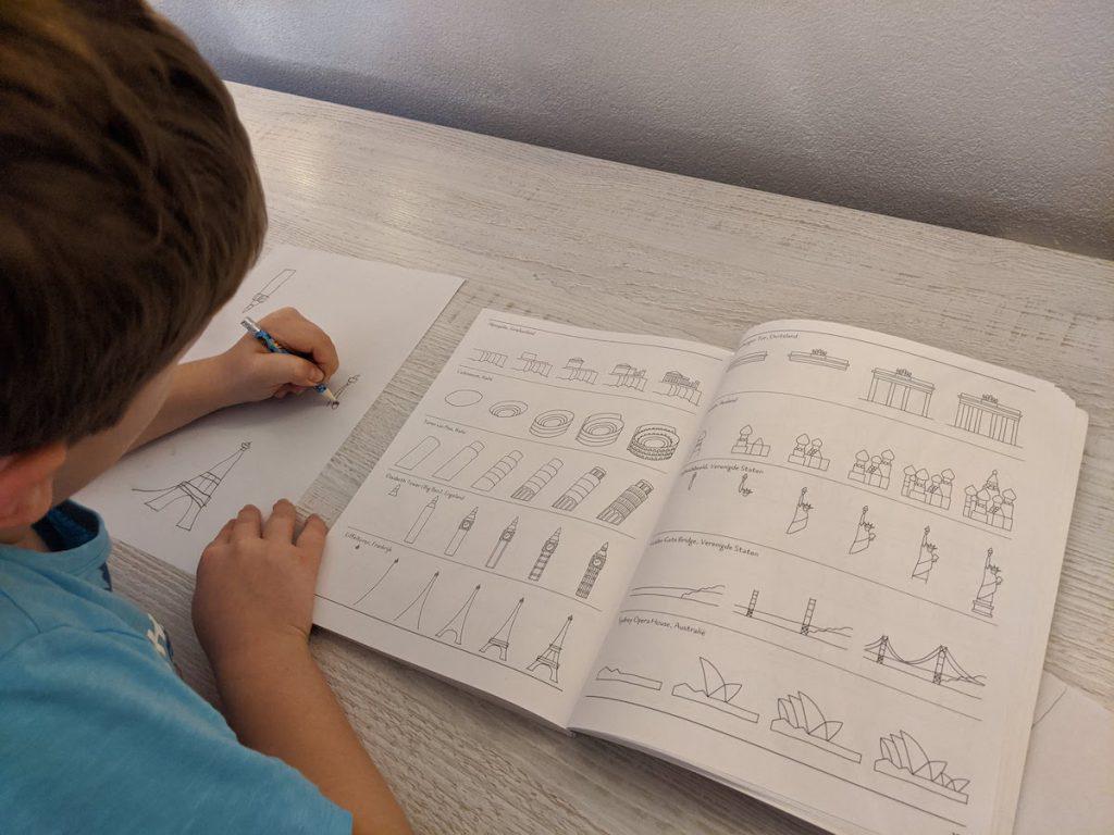 leren tekenen met Ik kan 1000 dingen tekenen van Deltas
