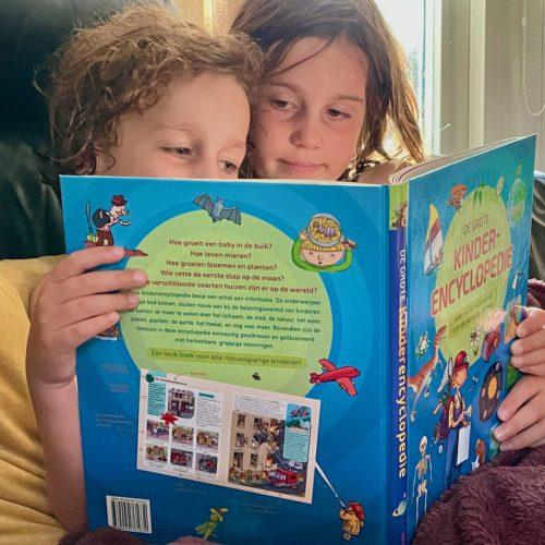Verruim je kennis met de grote kinderencyclopedie