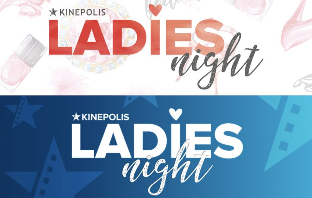 ladies night Kinepolis